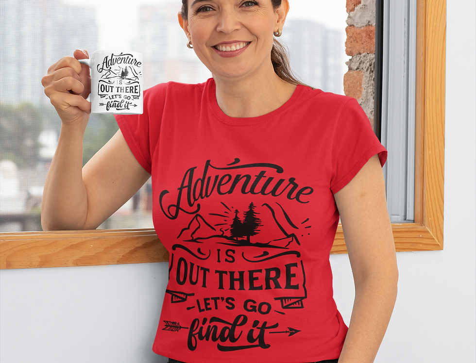 Adventure Is Out There Let's Go Find It T-Shirt