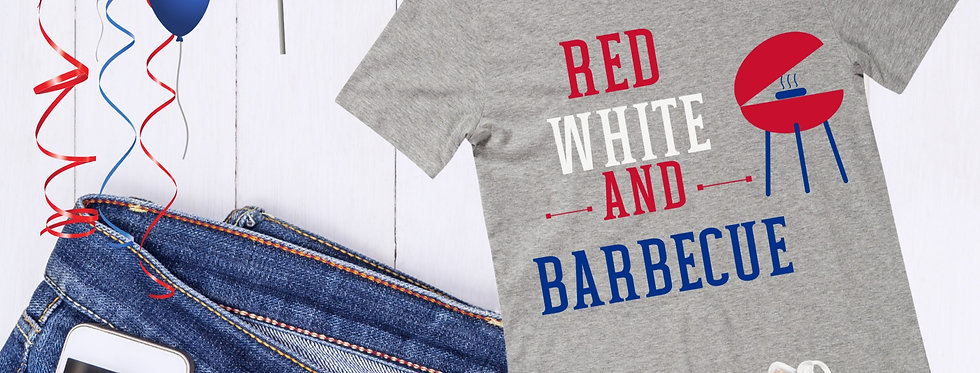 Red White And Barbecue T-Shirt