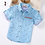 Thumbnail: Children Shirts Casual Solid Cotton Short-Sleeved Boys