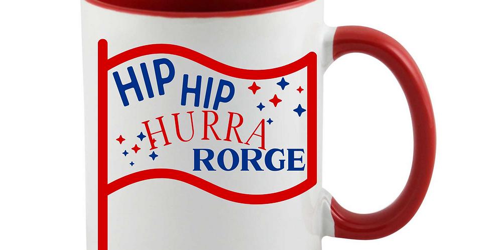 Hip Hip Hurra Rorge Mug