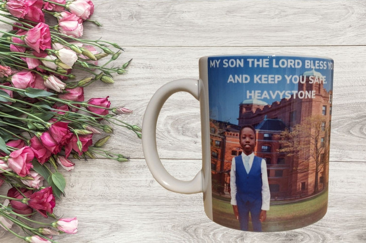 Photo Mug with or without text