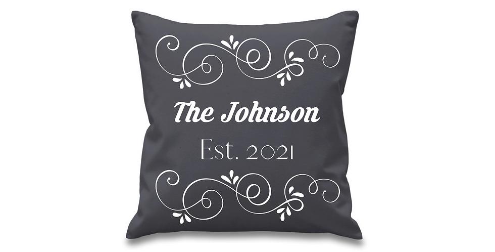 Wedding Personalised Cushion Cover
