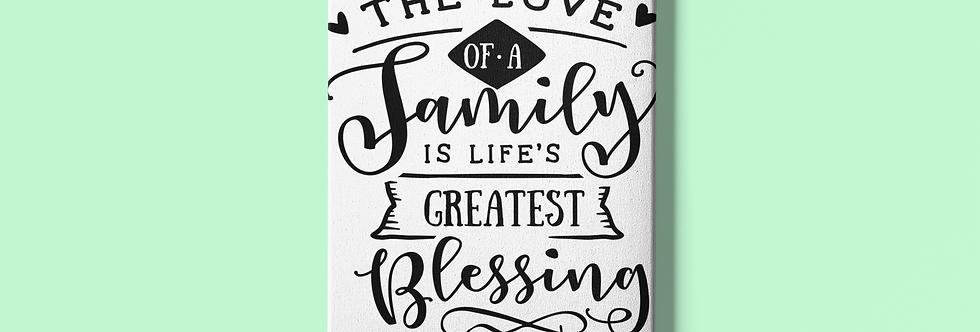 "The Love Of A Family 20X20""Canvas-Home Décor"