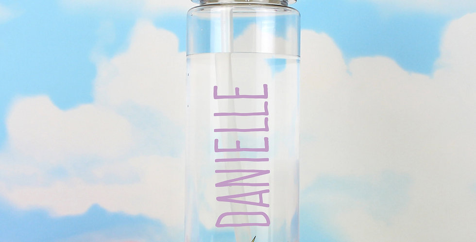 Water Bottle Personalised Unicorn Island