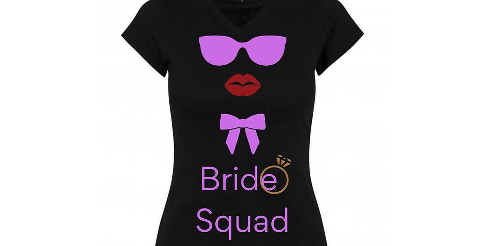 Bride Squad Custom T-Shirt