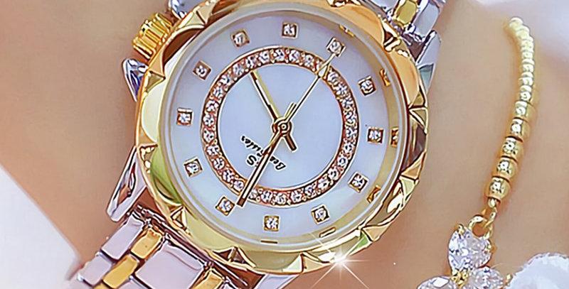 Rhinestone Elegant Ladies Watches