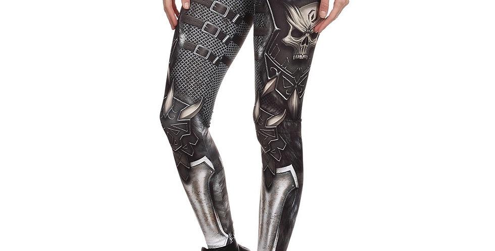 NADANBAO Brand New BARBARIAN Skull  Leggings