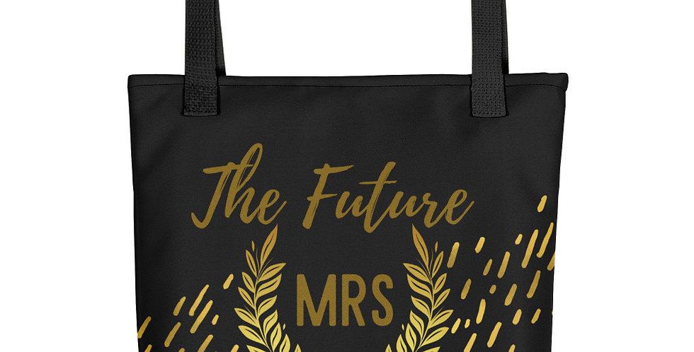 Personalised Wedding Tote bag Mrs Jonson