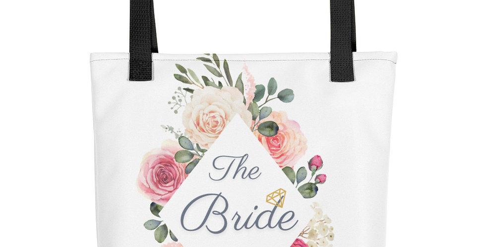 Personalised Wedding Tote bag The Bride