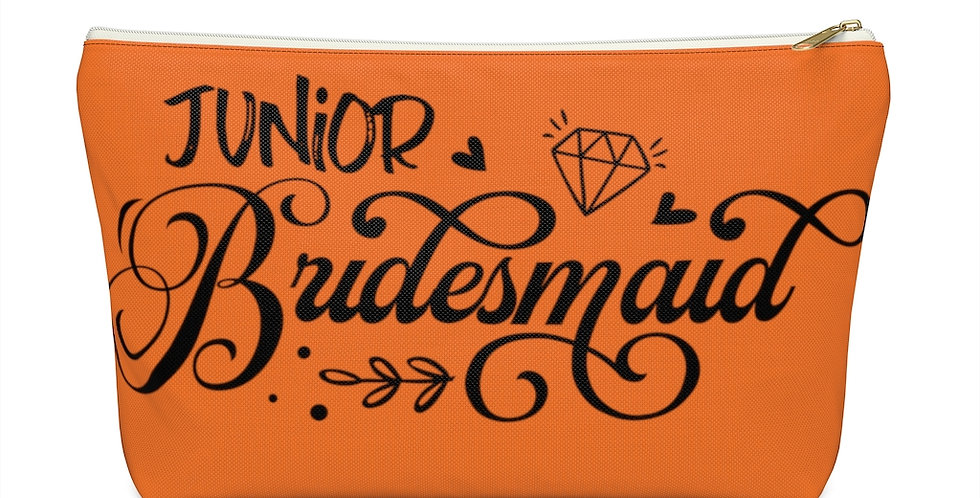 Junior Bridesmaid Pouch w T-bottom