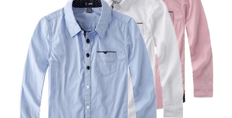 Sleeved Kids Boy's Shirts