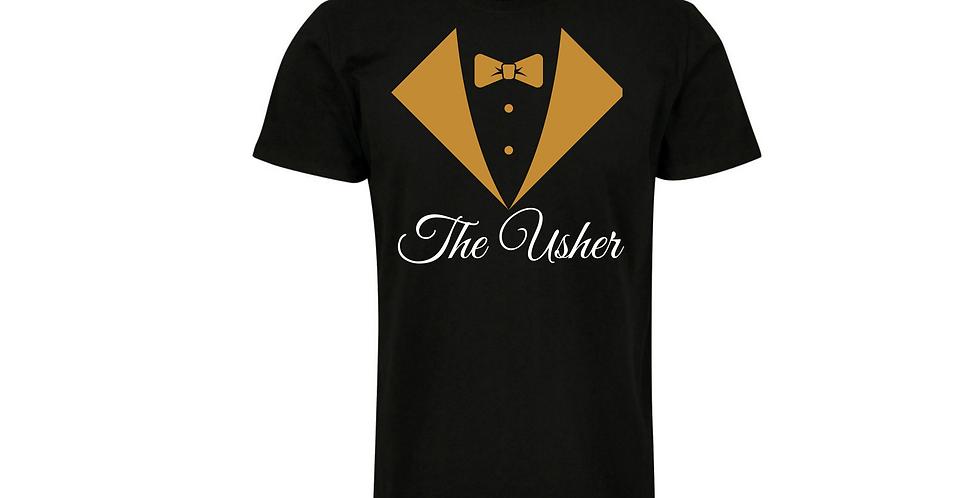 Wedding Party Shirt The Usher