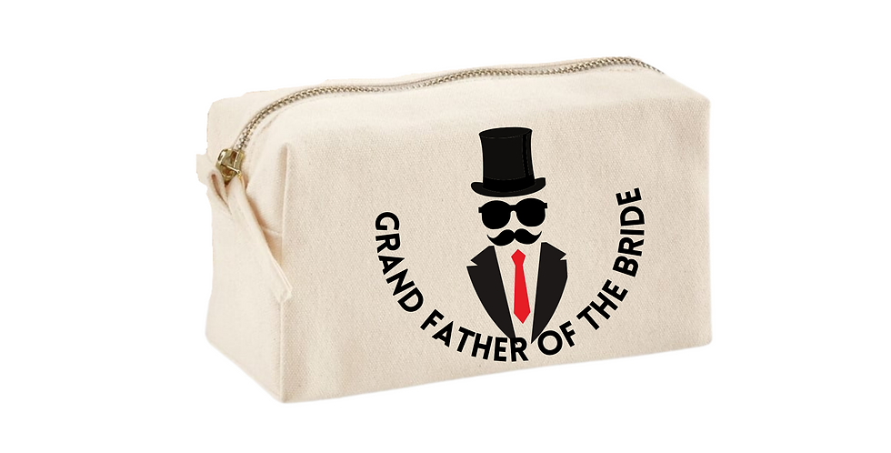 Wedding Accessory bag Grandfather Of The The Bride