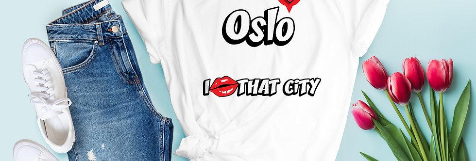 Oslo I Love That City T-Shirt