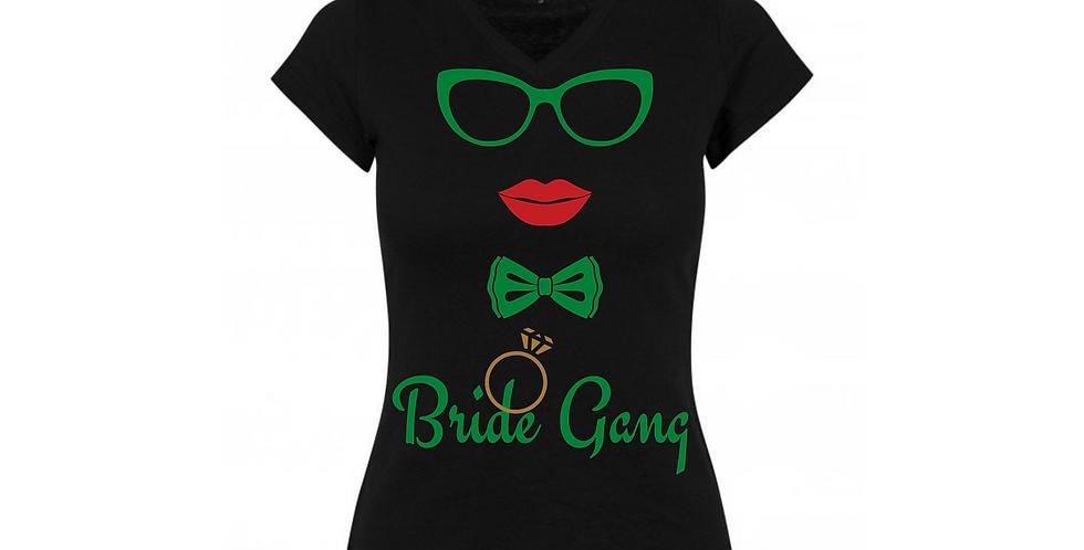 Bride Gang Custom T-Shirt