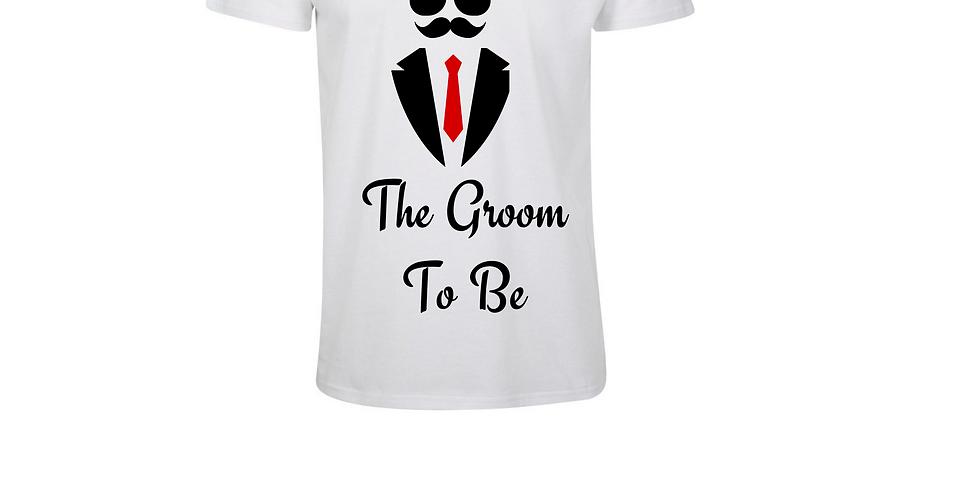 Wedding Custom T-Shirt The Groom To Be