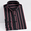 Thumbnail: Stretch Striped Basic Dress Shirt