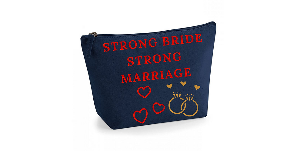 Wedding Accessory Bag Strong Bride Strong Marriage