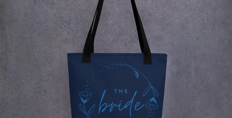 Personalised Wedding Tote bag Bride
