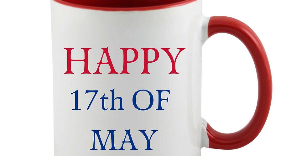Happy 17th Of May Mug