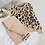 Thumbnail: Sweatsuits Knitted Suits Leopard Long Sleeve