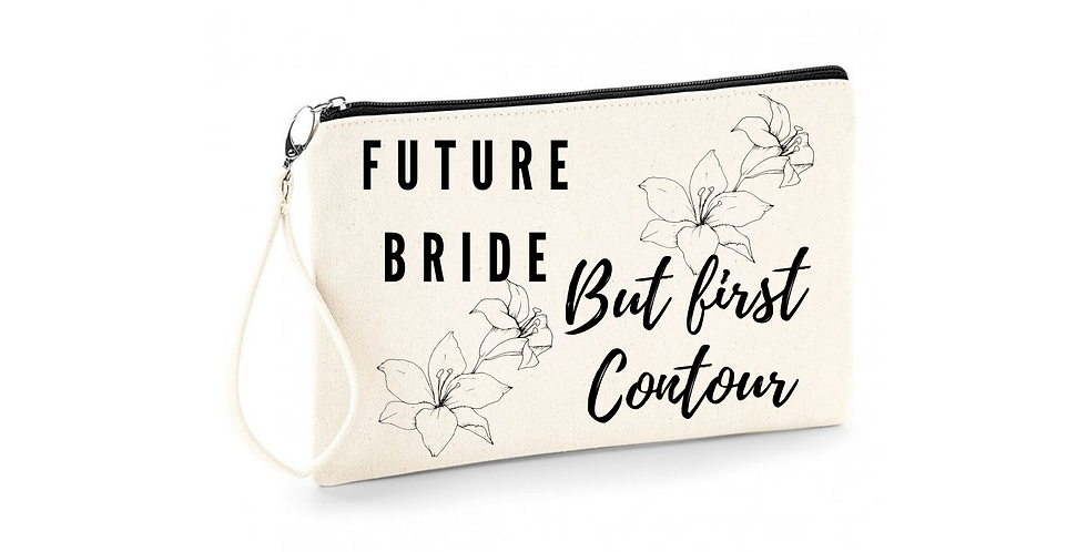 Wedding Future Bride Personalised Accessory Bag