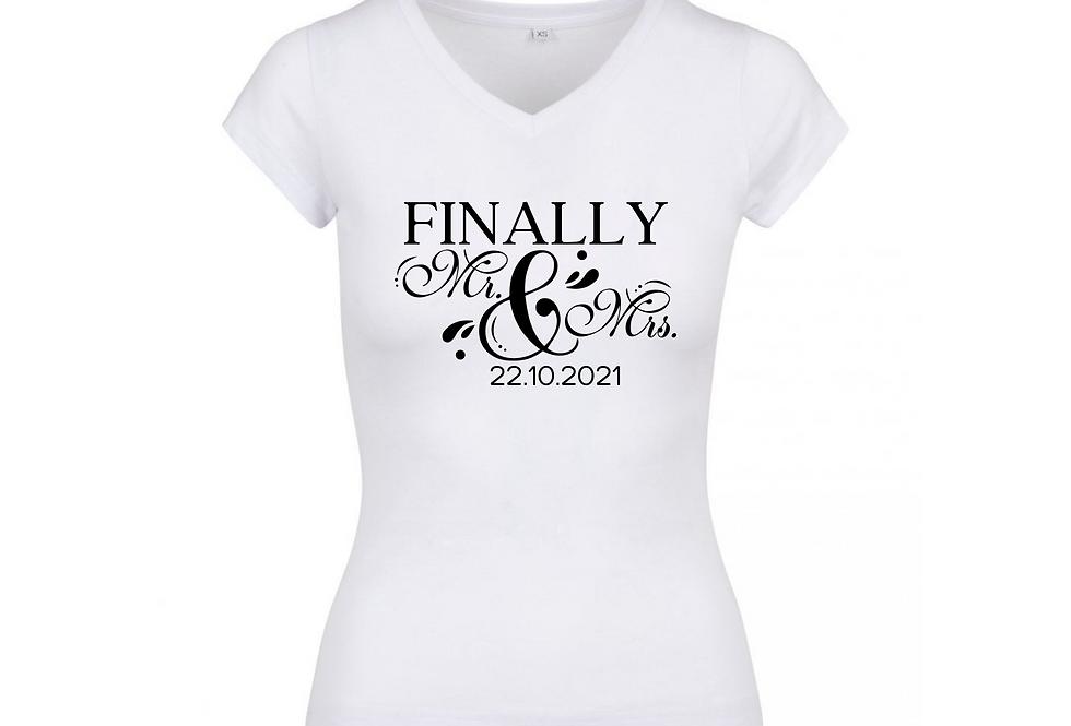 Finally Mr & Mrs Shirt