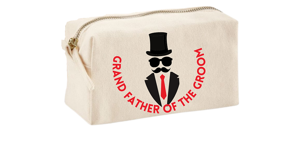 Wedding Accessory Bag Grandfather Of The Groom