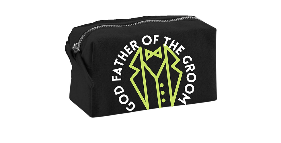 Wedding Accessory Bag God Father Of The Groom