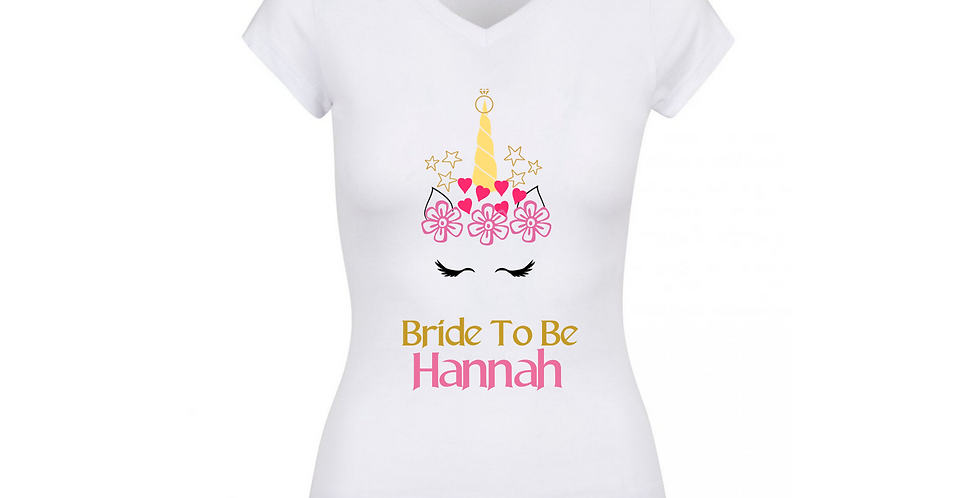 Personalised Bride To Be Top