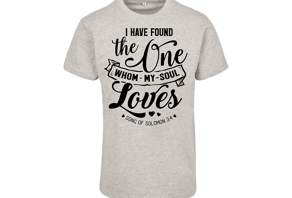 I Have Found The One Whom My Soul Loves Couple T-Shirt