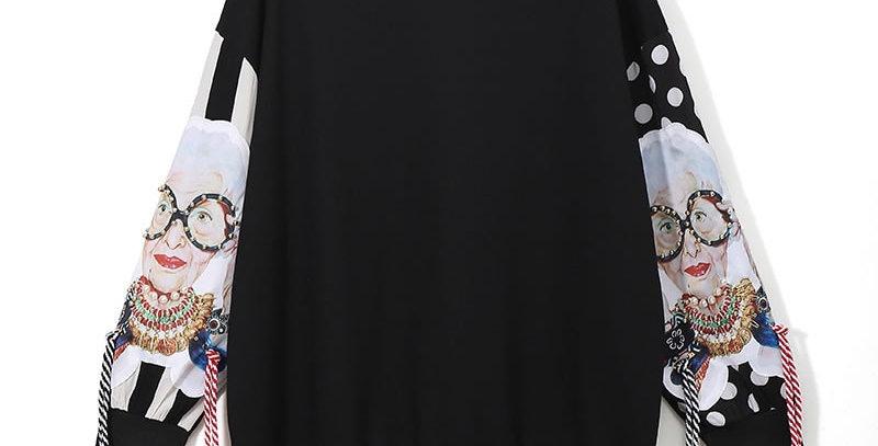 Black Long Sleeve Sweatshirts