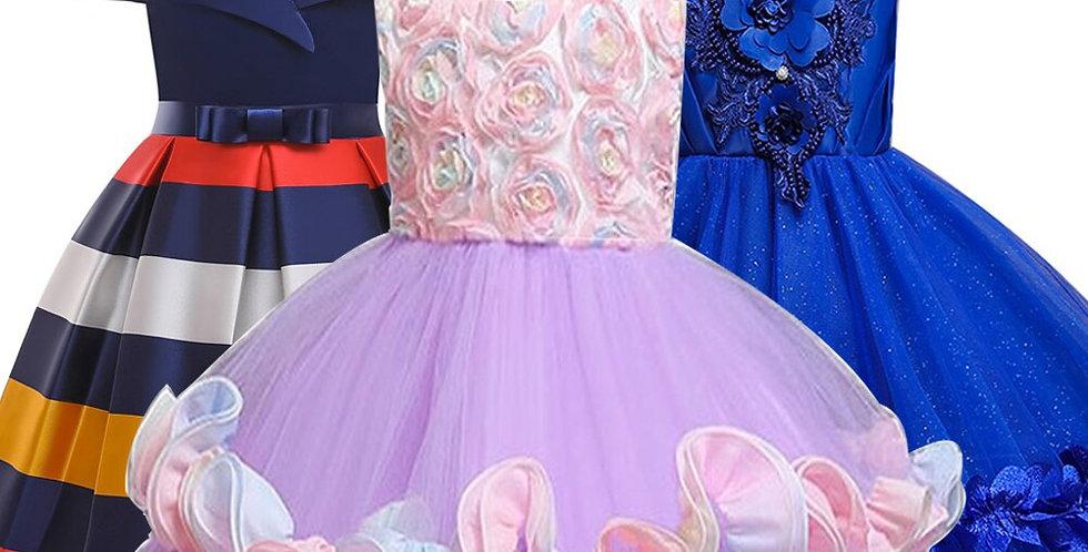 Elegant Children Princess Dress Kids Dresses for Girls