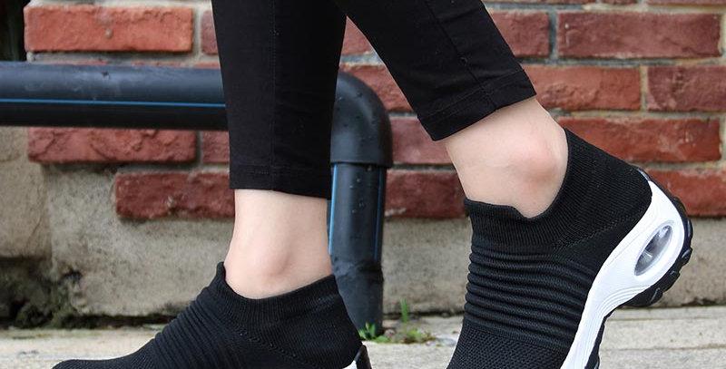 Flats Slip on Shoes for Women Sock Sneakers Platform