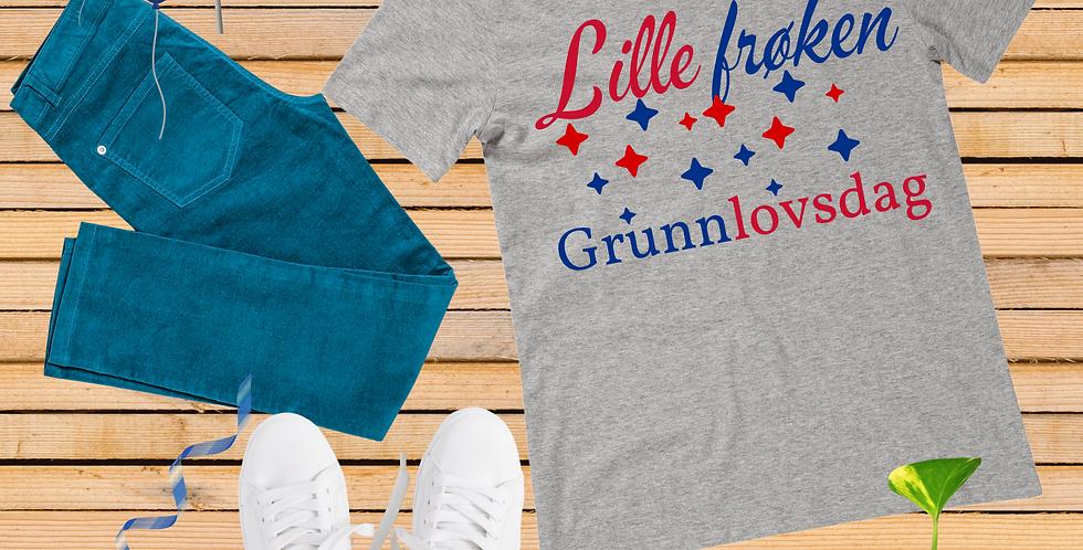 Lille Frøken Grunnlovsdag T-Shirt
