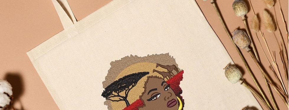 Premium Embroidered Cotton Tote  Bag