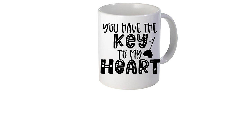 You Have The Key To My Heart Mug