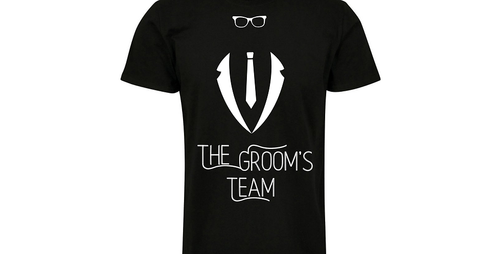 The Groom Team Custom Wedding T-Shirt