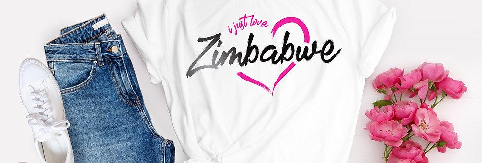 I Just Love Zimbabwe T-Shirt