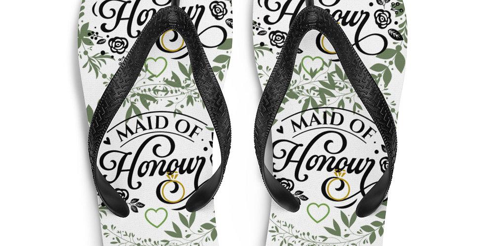 Wedding Flip-Flops Maid Of Honour