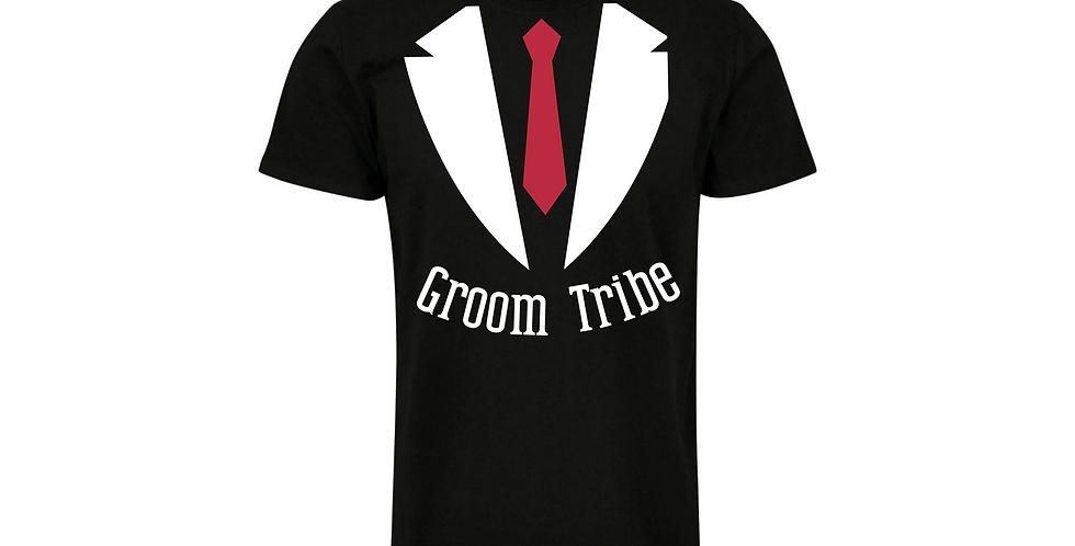 Groom Tribe Wedding Party Shirt