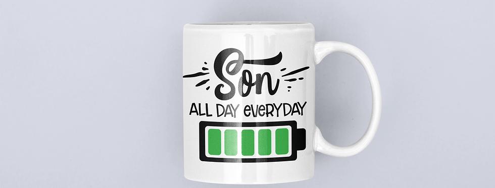 Son All Day Everyday 11oz Mug
