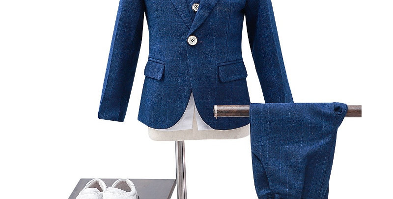 Children's Formal 4pcs Suit Sets
