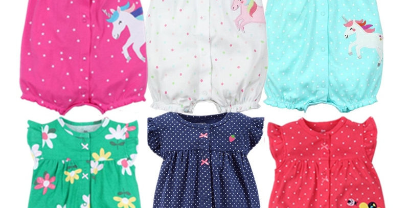 Orangemom  Baby Girl Jumpsuits