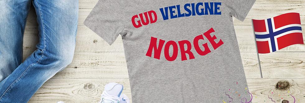 Gud Velsigne Norge T-Shirt