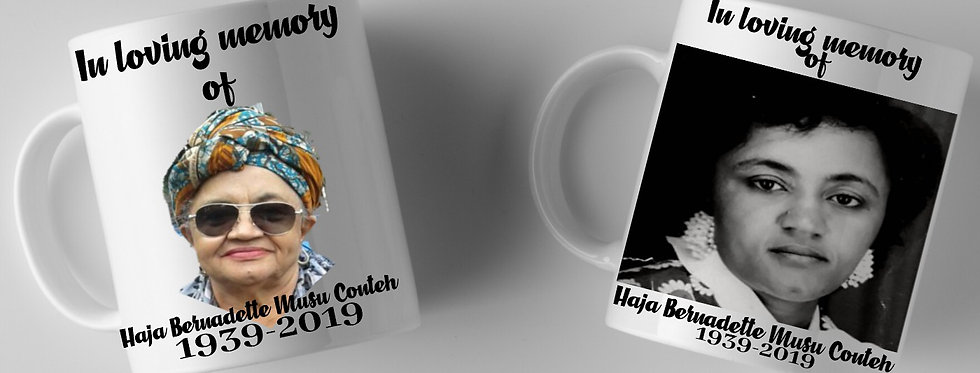 Personalised Mug In loving memory of