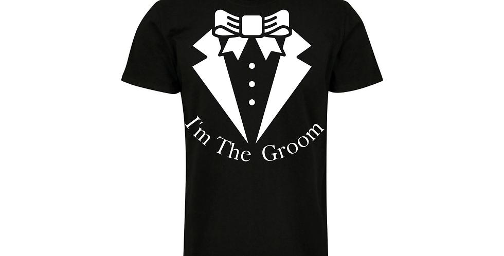 Wedding Party Shirt I'm The Groom