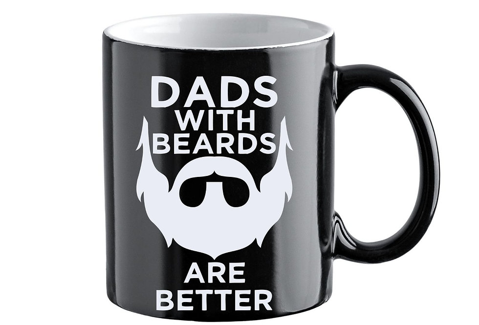 Dads With Beards Are Better 11oz Colour Mug