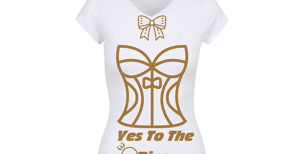 Yes To The Ring Custom T-Shirt