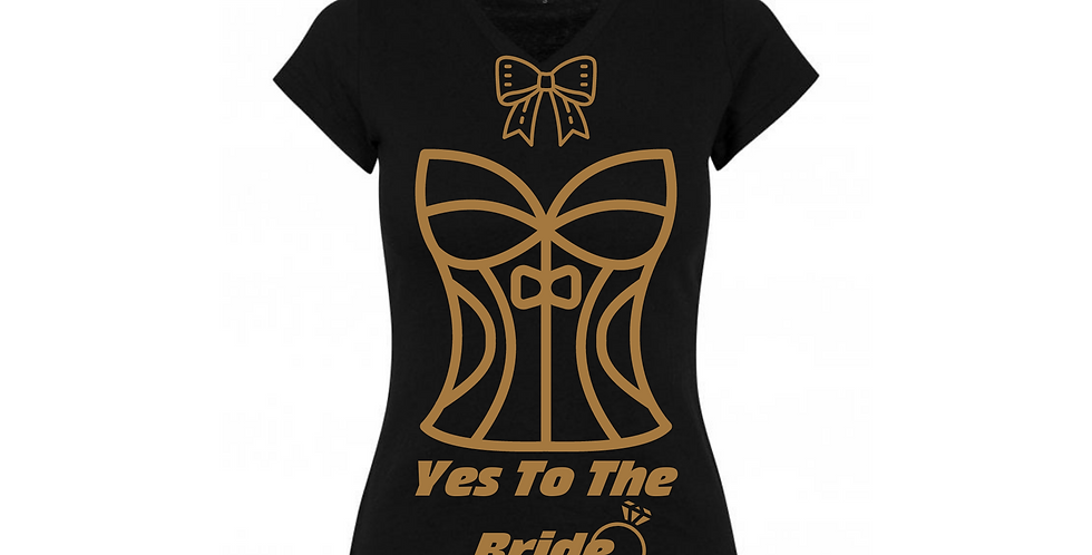 Yes To The Bride Custom T-Shirt
